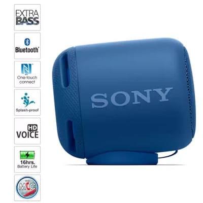 Sony Extra Bass SRS-XB10 - 10 W Portable Bluetooth Speaker (Blue, Mono Channel)