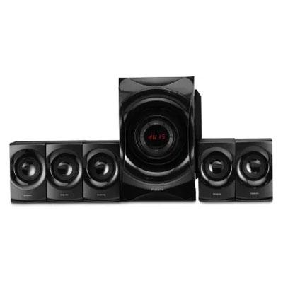 Philips SPA8000B/94 90 W Bluetooth Home Theatre (Black, 5.1 Channel)