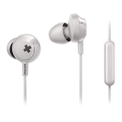Philips Bass+ SHE4305 Wired Headphones with Mic