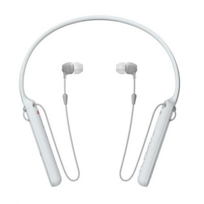 Sony C400 Bluetooth Headset with Mic (White, In the Ear)