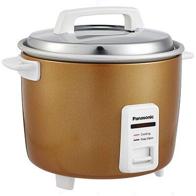 Panasonic SR-W18GH CMB Rice Cooker, Food Steamer (4.4 L, Lemon)