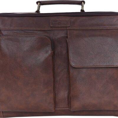 Swisstek 15 inch Inch Laptop Tote Bag (Brown)