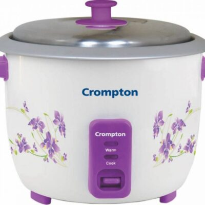 Crompton ACGRC-MRC61-I Electric Rice Cooker with Steaming Feature