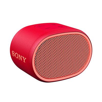 Sony SRS-XB01 Portable Bluetooth Speaker (Red, Mono Channel)