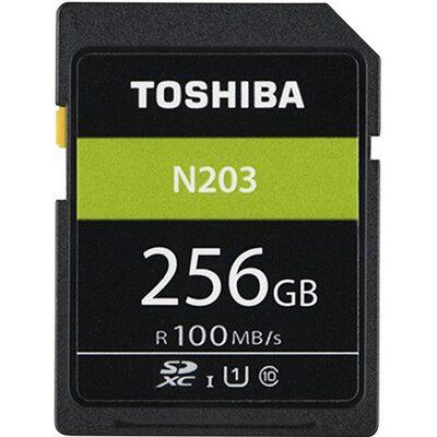 Toshiba N203 256 GB SDHC Class 10 100 MB Memory Card