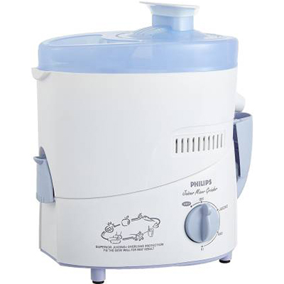 Philips New HL163-02 500 W Juicer (White, 1 Jar)