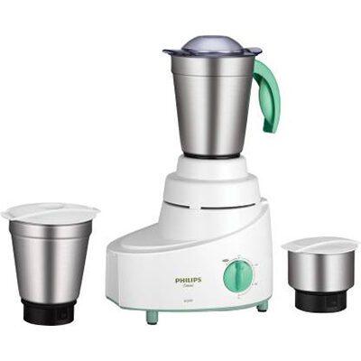 Philips HL1606-03 500 W Mixer Grinder (Green, 3 Jars)