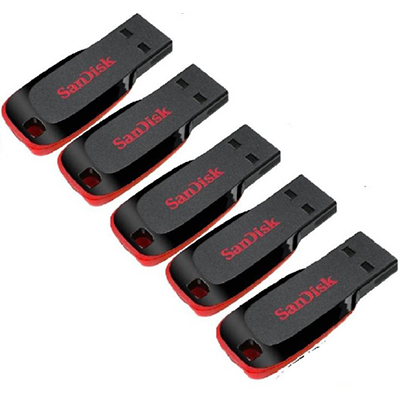 sandisk pendrive 64gb pack of 5