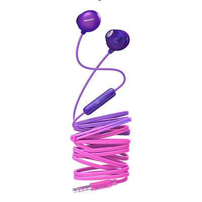 Philips SHE2305PP/00 Upbeat inear Earphone with Mic (Purple)