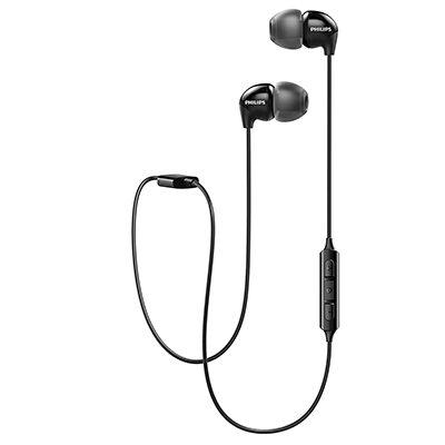 Philips SHB3595BK-10 Wireless Bluetooth Headphones (Black)