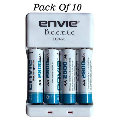 Envie-Bettle-ECR-20-Combo-With-4xAA-2800-Ni-MH-rechargeable-Camera-Battery-Charger-White