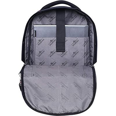 Swisstek BP-020 Laptop Back Pack Black Red-2