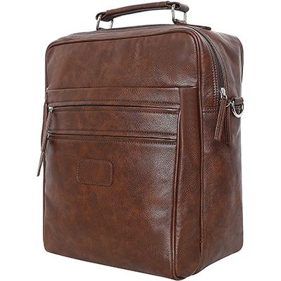 Swisstek BP-014 3 in 1 Pu Back Pack Brown