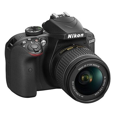 Nikon D3400- 18-55 lens
