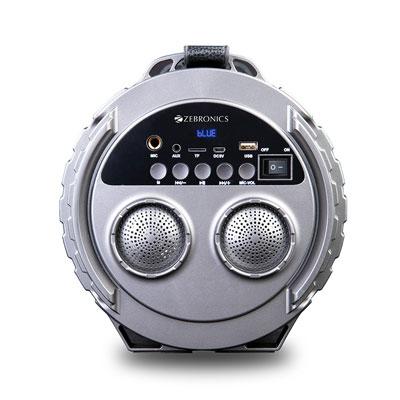 Zebronics Super Bazooka Wireless Bluetooth Speaker (Black, Stereo Channel)