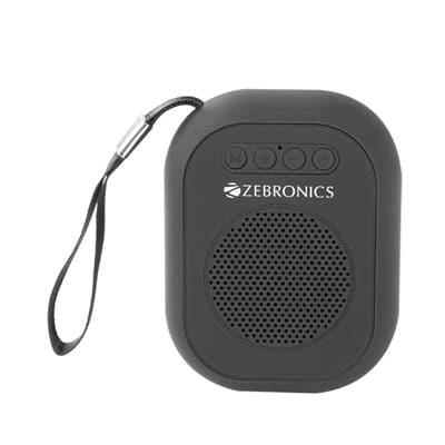 Zebronics ZEB-SAGA 3 W Bluetooth Speaker (Black, 4.1 Channel)