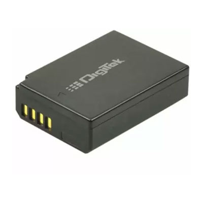 Digitek 860 mAh LP-E10 Rechargeable Lithuim Ion Battery for Canon Digital Cameras (Black)