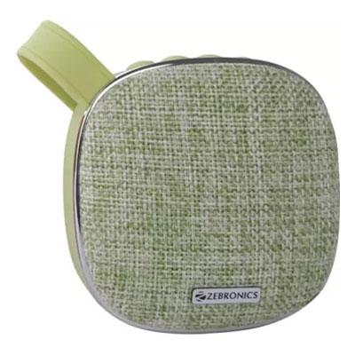 Zebronics ZEB-PASSION 3 W Bluetooth Speaker (Green, 2.1 Channel)