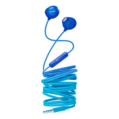 Philips SHE2305WT/00 Upbeat inear Earphone with Mic (Blue)