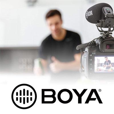 Boya BY-PVM1000 Condenser Shotgun Microphone Camera Microphone