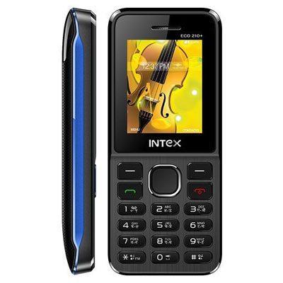 Intex Eco 210+ Multi Color Dual Sim Mobile