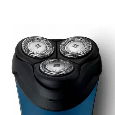 Philips S3350/06 Shaver For Men(Black, Blue)