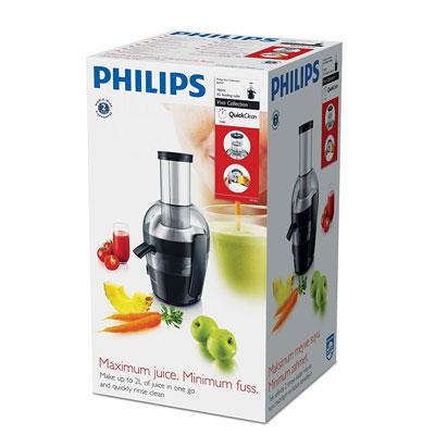 Philips HR1855 Viva Collection Juicer (Ink Black)