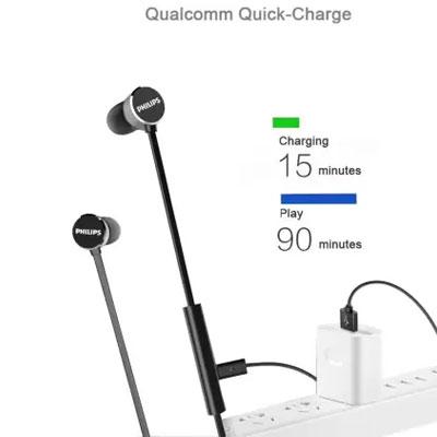 Philips UpBeat TAUN102 Wireless Bluetooth Headset