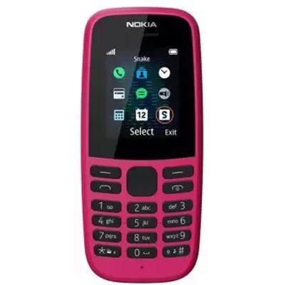 Nokia-105-singalsim-PINK
