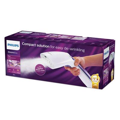Philips Handheld Garment Steamer GC360 - Vertical & Horizontal Streaming, 1200 Watt