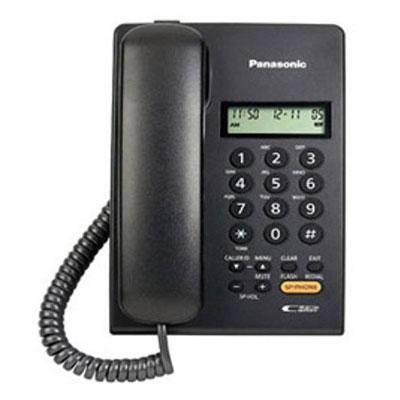 Panasonic KX-TSC62SXB Corded Landline Phone (Black)
