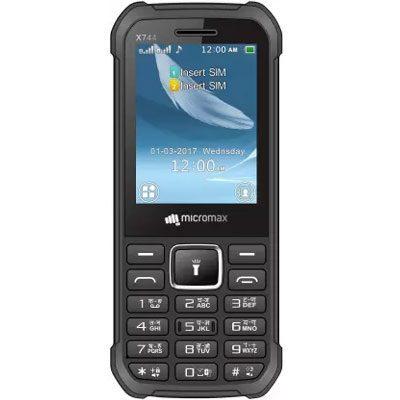 Micromax X744 Mobile Black