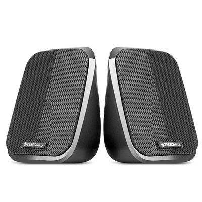 Zebronics FAME 2.0 channel 2.5 W Laptop-Desktop Speaker