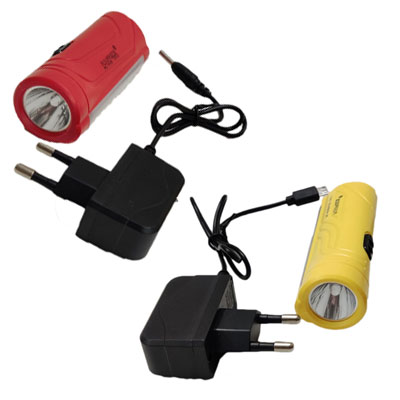 CTB PLSUPREME 006 YR Torch (Red, Yellow : Rechargeable)