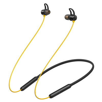 Realme Buds Wireless Bluetooth Headset (Yellow, In the Ear)