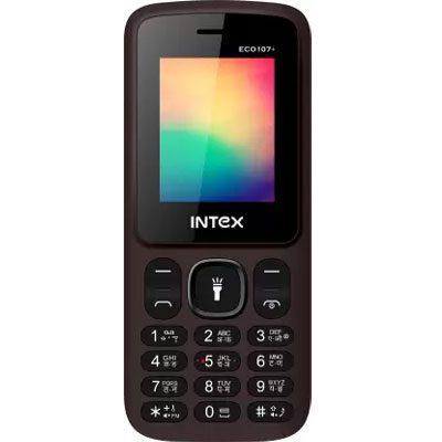 Intex Eco 107 Plus Mobile Phone black cofee