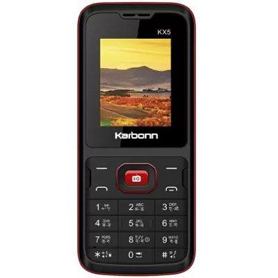 Karbonn KX5 (Black & Red)