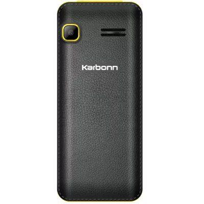 Karbonn K88 Mobile (Black & Yellow)