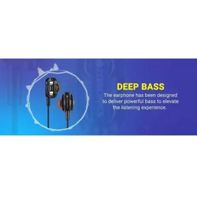 Zebronics ZEB-MAGIC Wired Headset (Black, In the Ear)