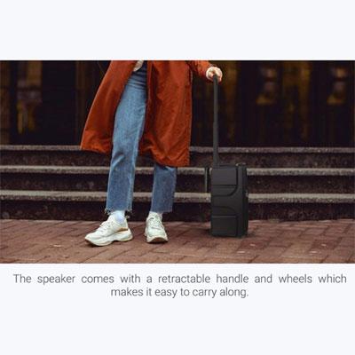 Zebronics ZEB-101 Moving Monster X8L 24 W Bluetooth PA Speaker (Black, Stereo Channel)