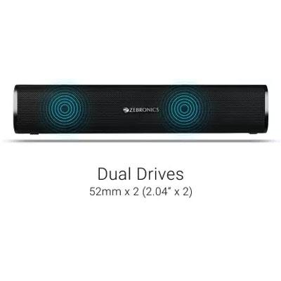 Zebronics Zeb-Vita Plus 16W Multimedia Bluetooth Speaker (Black)
