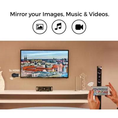 Zebronics ZEB-CAST100 HDMI Wireless Display Dongle Media Streaming Device