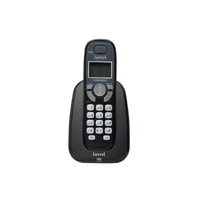 Beetel X70 Cordless Landline Phone (Black)
