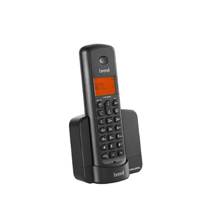 Beetel X-90 Cordless Landline Phone (Black)
