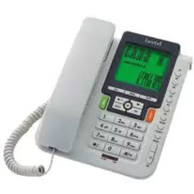 Beetel M71 Corded Landline Phone (Grey Black)