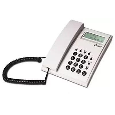 Beetel M51 Corded Landline Phone (Light Grey)