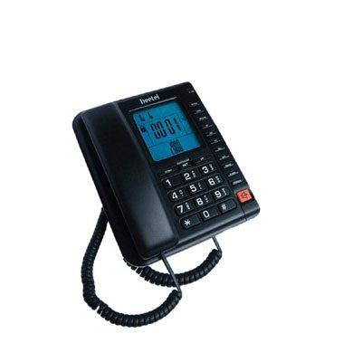 Beetel M78 Corded Landline Phone (Black)
