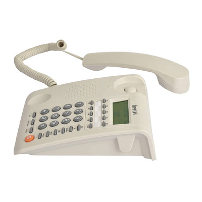 Beetel M59 Corded Landline Phone White