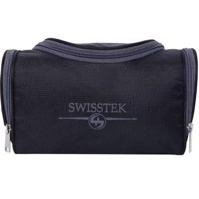 Swisstek Toiletry Pouch Wet Pouch Blk Grey TK-015