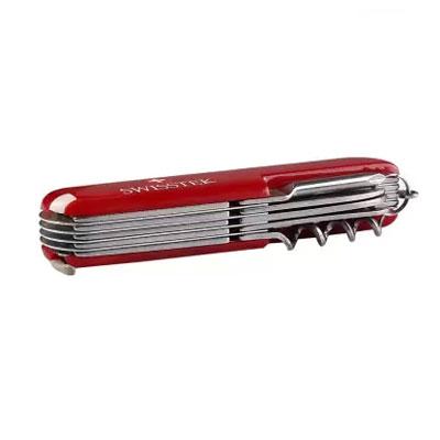 Swisstek Multi tool Key Chain 12in1 Red MT-012